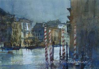 Am Canal Grande, Venedig
