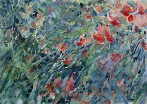 Wicken, 2014 45 x 32 cm Aquarell