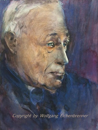Heiner Geissler, 2013 32 x 45 cm Aquarell