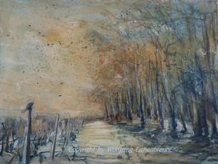 Ein Wintermärchen, 2015, 45 x 32 cm, Aquarell