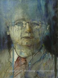 Joschka, 2006 32 x 45 cm Aquarell