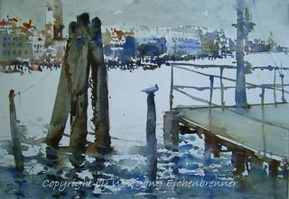 Am Bacino di San Marco,  Venedig