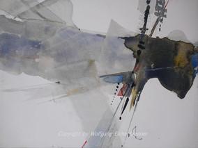 Ohne Titel, 2011 45 x 32 cm Aquarell