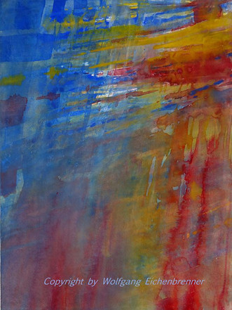 Ohne Titel, 2014 32 x 45 cm Aquarell