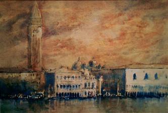 Venedig, Aquarell