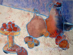 Morgenduft, 2005 45 x 32 cm Aquarell