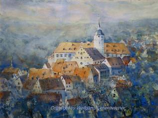 Waldenbuch, Aquarell