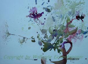 Wiesenstrauß, 2013 45 x 32 cm Aquarell