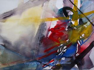 Ohne Titel, 2014 45 x 32 cm Aquarell