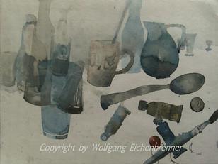 Kleines Stillleben, 2005 45 x 32 cm Aquarell