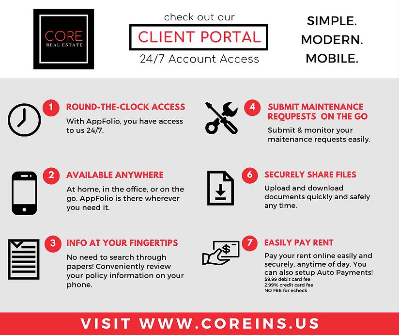 CORE REG AppFolio-Client Portal Square I