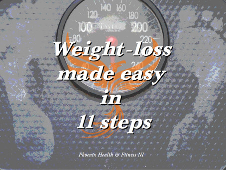 Weight-loss made easy in 11 steps