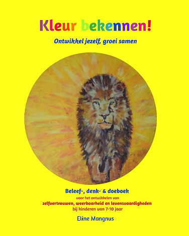 Kleur Bekennen! Kindercoachboek