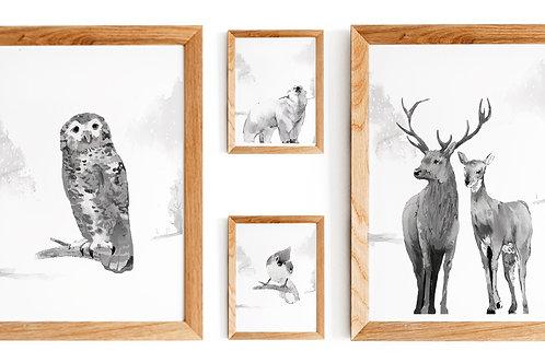 Affiches décoration à imprimer - Classic black and white