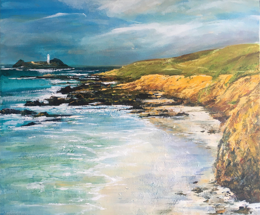 Godrevy, A sunny Winter Day