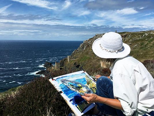 Clare Hughes cornish landscape artist