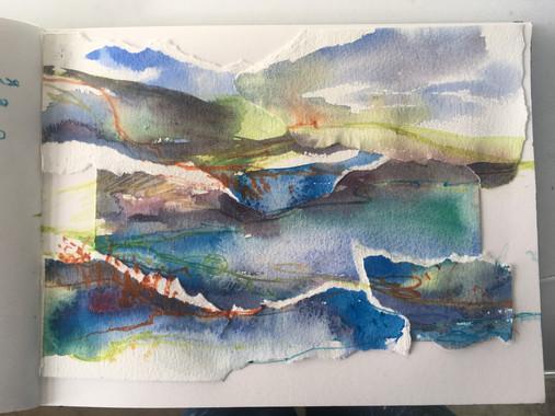 watercolour collage 2