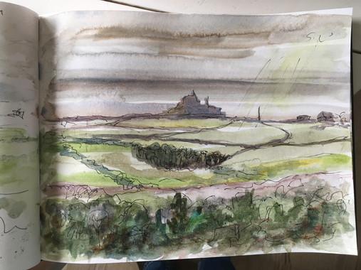 sketchbook Mount from Trencrom.jpg