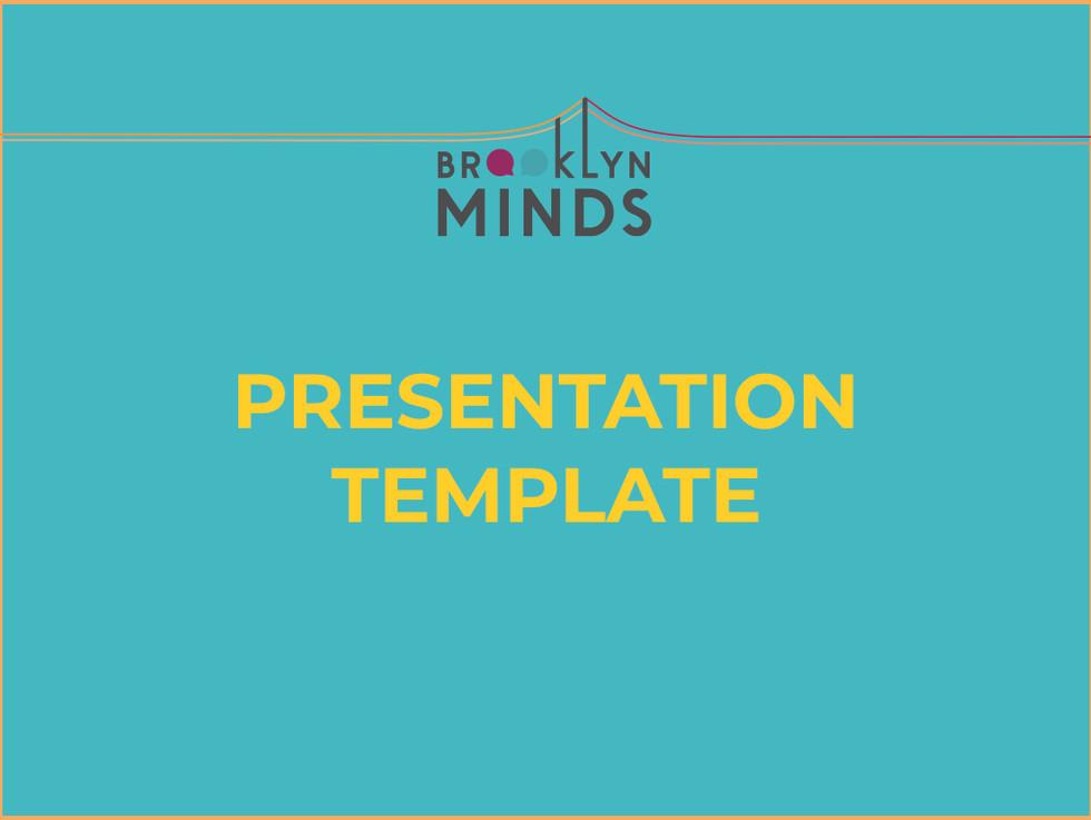 Brooklyn Minds Presentation Template Dec