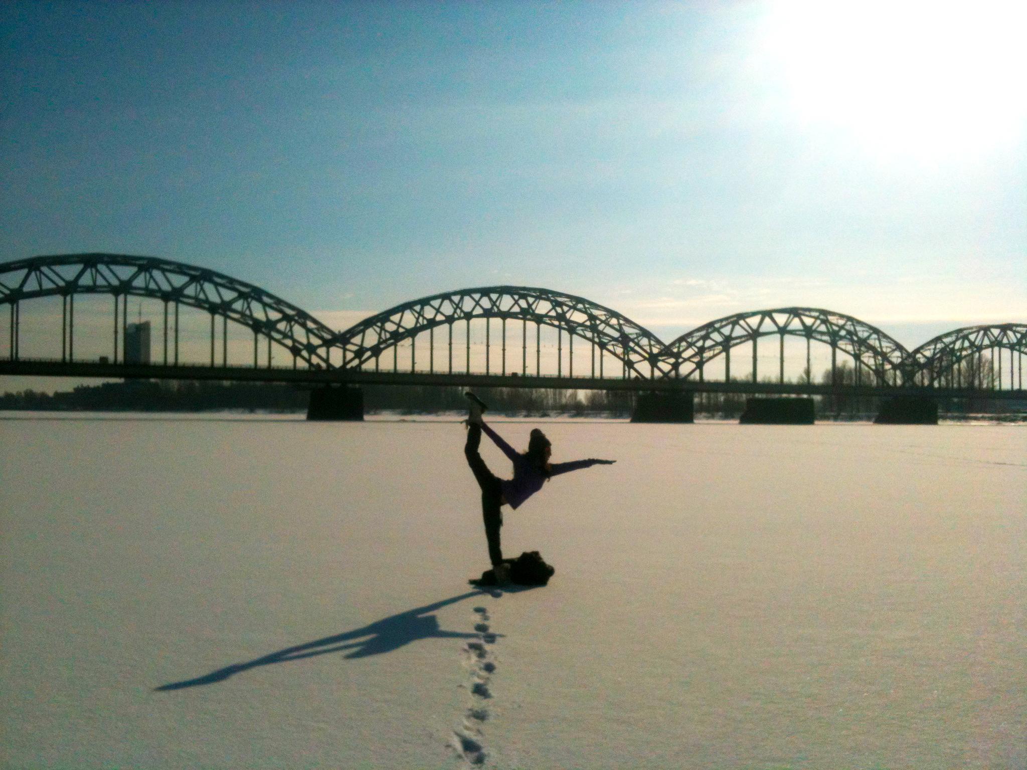 Latvia - Riga (Frozen Daugava river)