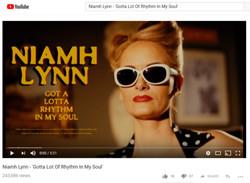Niamh Lynn - 'Gotta Lot Of Rhythm In My