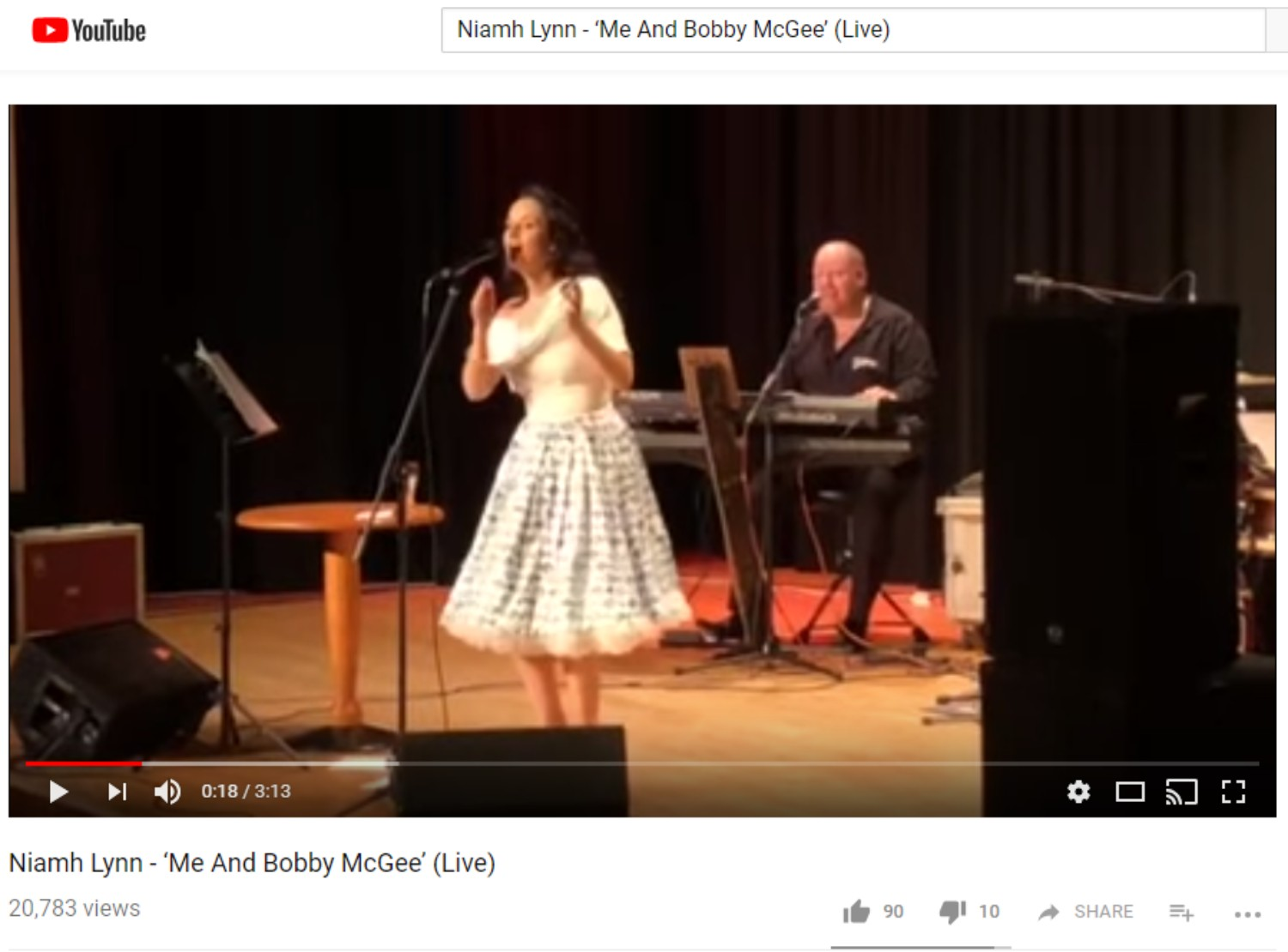 Niamh Lynn - 'Me And Bobby McGee' (Live)