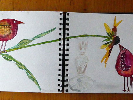 Collaborative Sketchbook Update