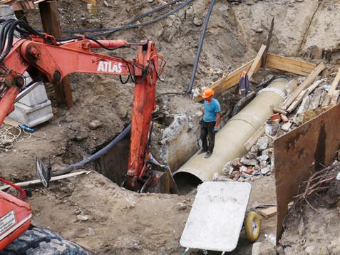 Київводоканал за рік збільшив вартість реконструкції каналізаційного колектора в 2,5 рази