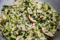 Crunchy apple & cabbage salad