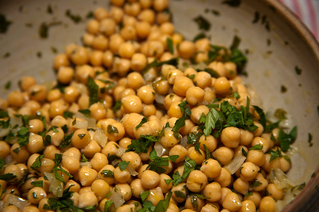 Chickpeas - humble but delicious!