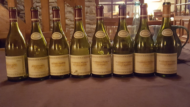 Menus to make wines shine