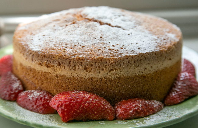 White wine - great in a cake!