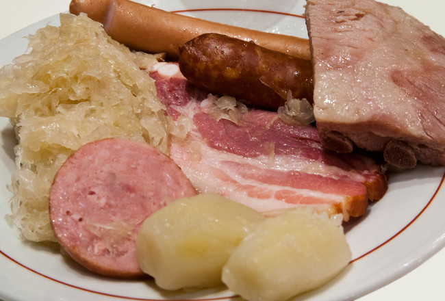 Choucroute for Alsace pickers