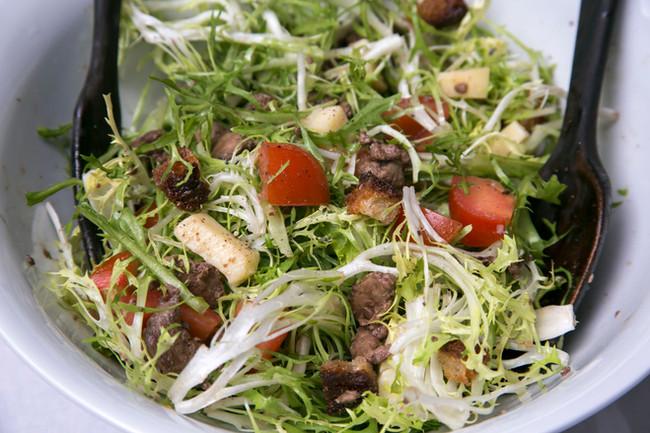 French Wine Harvest salad for summer