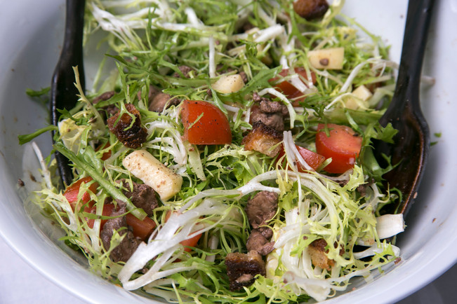 French Wine Harvest salad for summer