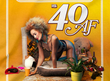 Announcing new comedy album: 'CALISE HAWKINS IS 40 AF' out Aug 14 on Blonde Medicine