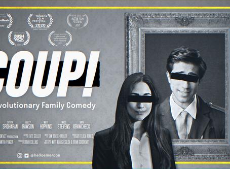 Web-series 'COUP!' screening at Austin Film Festival