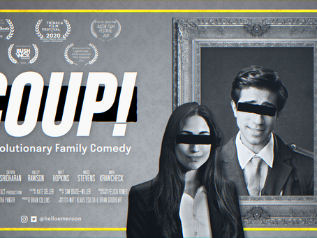 Web-series 'COUP!' screening at Austin Film Festival