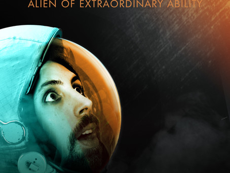 Eric Lampaert's ALIEN OF EXTRAORDINARY ABILITY Out November 9th