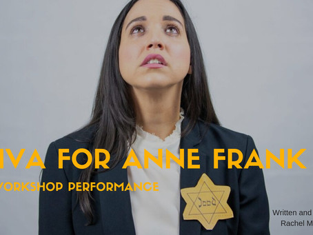 SHIVA FOR ANNE FRANK: RACHEL MCKAY STEELE TO PERFORM SOLO SHOW AT THE PIT