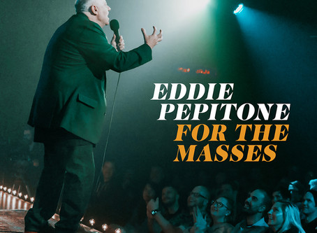 Eddie Pepitone FOR THE MASSES comedy special June 23