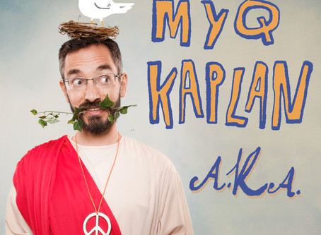 Out May 8th: Myq Kaplan's Comedy Album Based on Edinburgh Fringe Show