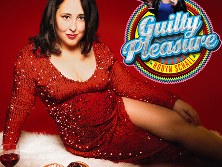 Out 11/19: Robyn Schall's debut comedy album 'Guilty Pleasure!'