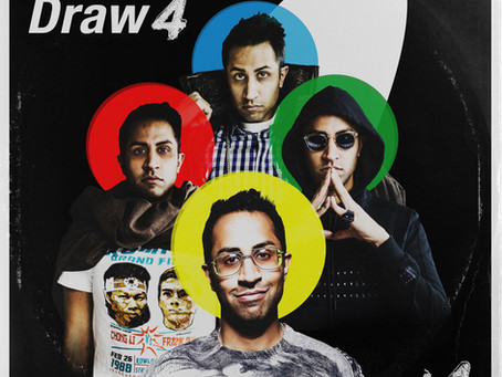 KC ARORA'S debut comedy album DRAW 4 out on BLONDE MEDICINE on June 12