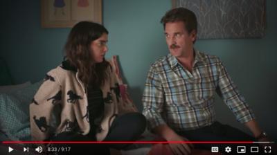 Allison Raskin's 'Clap' debuts on YouTube - starring Pete Gardner and Dylan Gelula