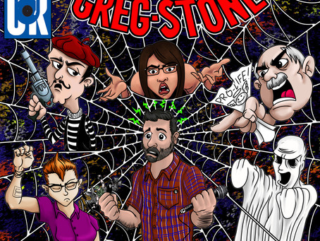 THE AMAZING GREG STONE out Feb 15 on Comedy Records