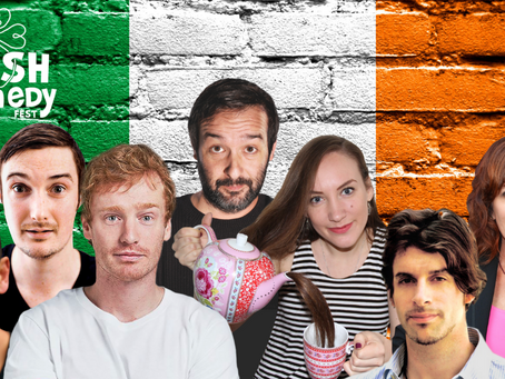 The Real Irish Comedy Fest - Greater Bay Area Shows Shows Kick-Off Early March