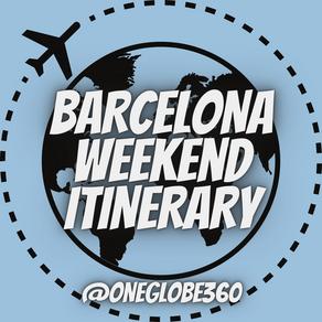 Barcelona Weekend Itinerary