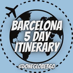 Barcelona - 5 Day Itinerary
