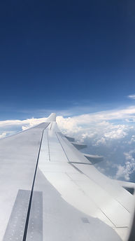 Aircraft Wing over Koh Samui